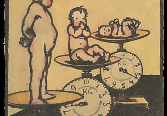 Source: leaflet Gezondheid is uw Grootsten Schat (Health is Your Greatest Treasure) by Louis Raemaekers (In opdracht van Nederlandsche Centrale Vereeniging tot Bestrijding der Tuberculose: 1928)
