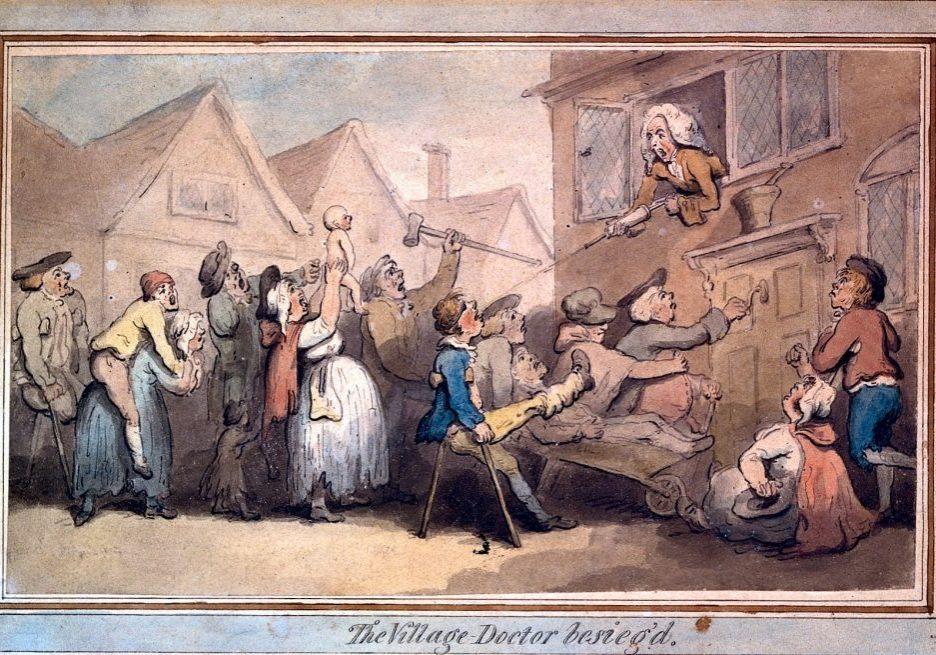 village doctor besieged wellcome